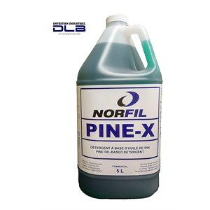 Détergent à base d'huile de pin (PINE-X) 4L