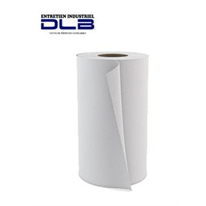 White paper hand towel