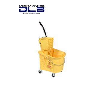 Chaudière essoreuse latérale jaune 24.6L