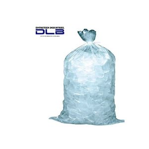 """Sac à glace 10""""X21"""" 3MIL"""
