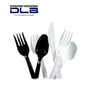 Couteau plastique blanc #8387